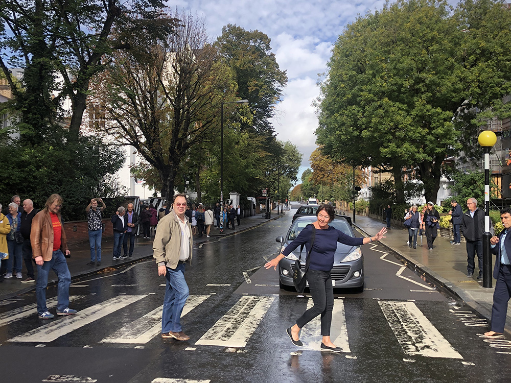 Abbey Road 50 years ago