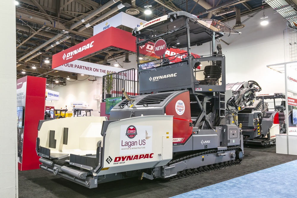 Dynapac's proven material transfer