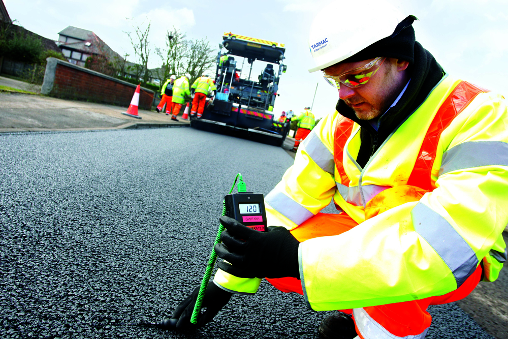 Tarmac believes using warm mix asphalt could cut traffic delays from roadworks, as well as offering a more sustainable option for road construction
