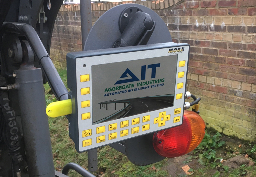 The new AIT system delivers more efficient paving and compaction