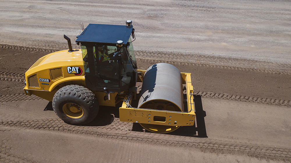 Caterpillar's Commmand for Compaction system