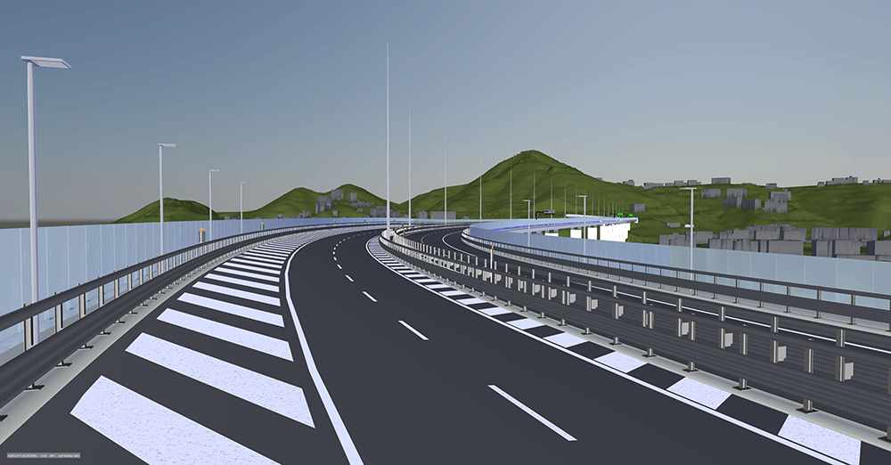 An overall Federated Model allowed grand views of the completed infrastructure  (photo courtesy Italferr)