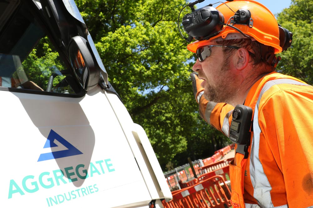 Using headsets onsite has helped improve communications between personnel