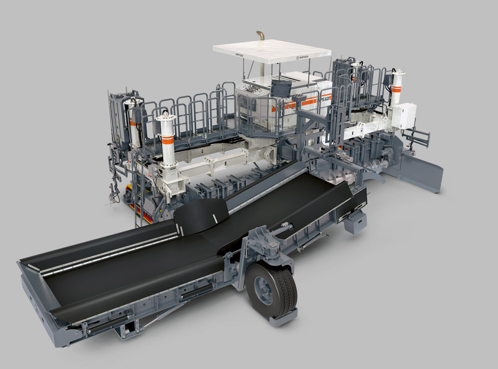 Wirtgen is offering its new placer spreader