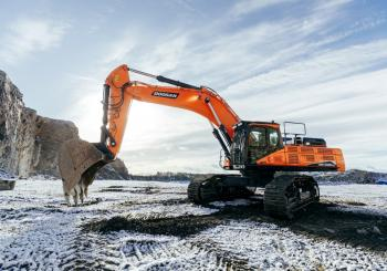 Doosan's new 50tonne class excavators offer higher productivity