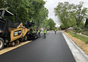 Janesville in Wisconsin has carried out street rehabilitation work using rejuvenated high recycled-content HMA