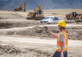 High accuracy augmented reality tools like Trimble SiteVision help visualize complex construction concepts, including both above and below ground assets and designs