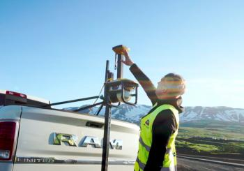 Technology from Topcon played a key role in resurfacing a drag race circuit in Iceland