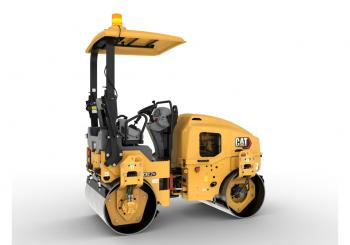 Caterpillar is now offering updated compactors for the 2-3tonne class
