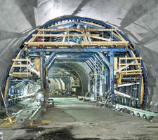 Concremote system on the Senftenberg Tunnel project