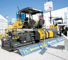 Sumitomo's HA90C-2 screed
