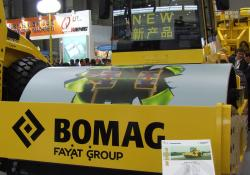Bomag The BW220-D4 soil compactor