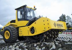 BOMAG soil compactor
