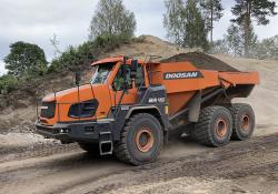 Doosan is now offering upgraded ADTs for the 28tonne and 41tonne payload classes
