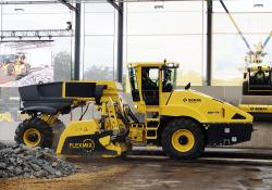 Bomag's productive RS500 recycler/stabiliser is said to offer efficient mixing