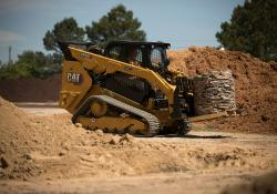 Caterpillar's improved D3 compact tracked loader