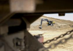 Volvo CE machines New Silk Road project