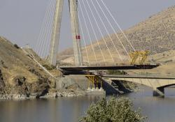Doka Turkey saw its main challenge as being the Kömürhan Bridge's pylon