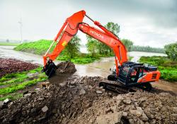 Hitachi's new generation excavators offer high efficiency