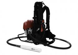 Minnich claims versatility for its new petrol powered backpack vibrator unit