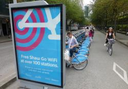 Vancouver, Canada: a major bike-sharing scheme in partnership with Mobi but no e-scooters yet (photo David Arminas/World Highways)