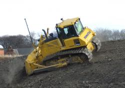 Dozers were amongst the first earthmoving machines to be fitted with machine control technology