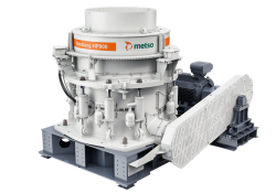 Metso is offering the high output HP900 cone crusher