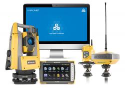 Sophisticated surveying technology package from Topcon