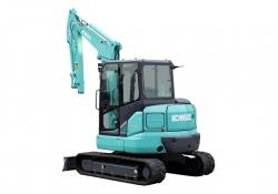Kobelco's improved mini excavators offer low emissions and better performance