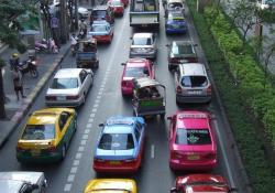 A new highway will reduce congestion in Bangkok
