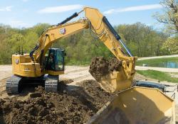 Caterpillar's new short tailswing excavator offers improved performance
