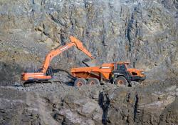 A new Doosan excavator has helped boost output at a quarry in the Czech Republic
