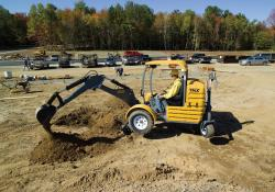 TMX towable mini-excavator