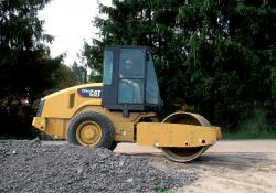 Caterpillar's CS44 at work