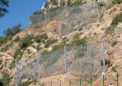Tud's Barriertech installed on cliffs