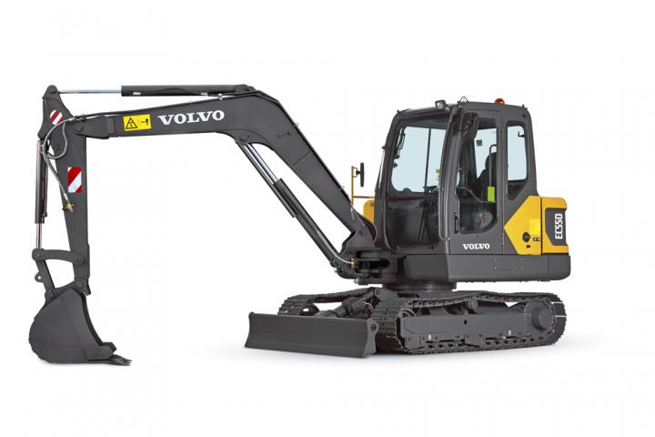 Volvo CE's midi exacavator is claimed to offer high output
