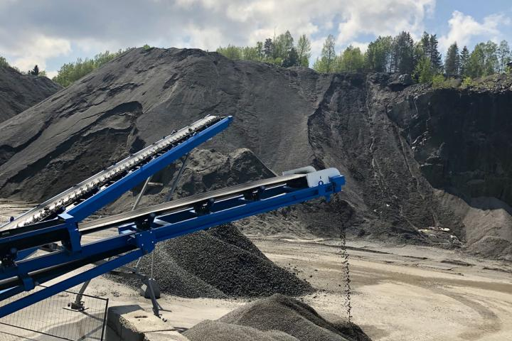 Using a new wash plant is helping boost efficiency for a Norwegian quarry firm