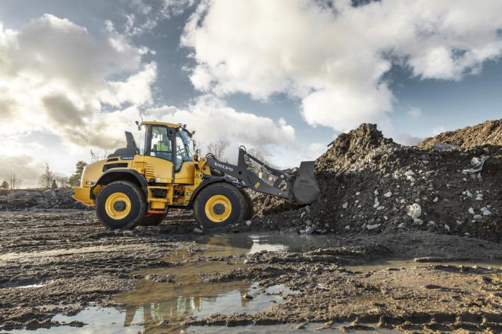 Volvo CE offers higher speeds for its latest L45 and L50 wheeled loaders