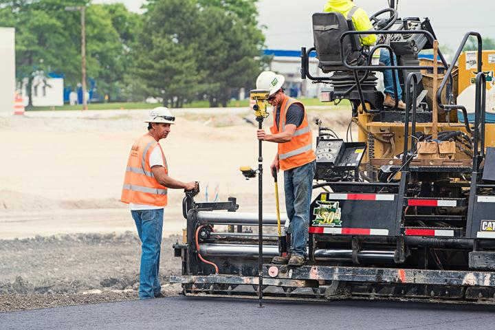 New tools from Topcon allow more efficient paving