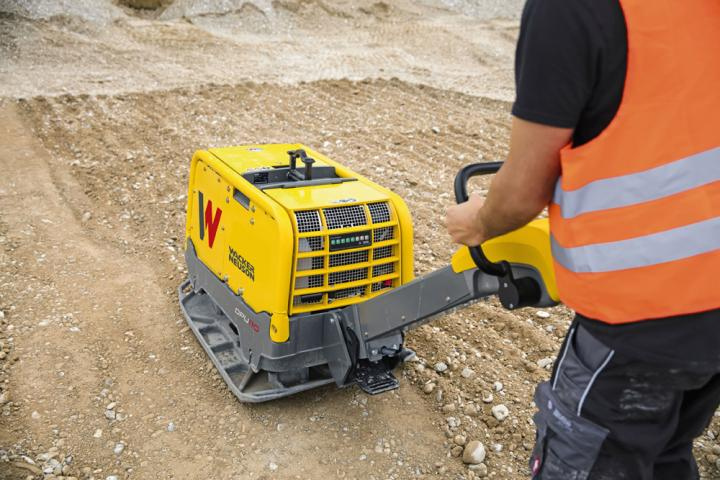 Increased working efficiency can be achieved with the new package offered by Wacker Neuson on its vibratory plates