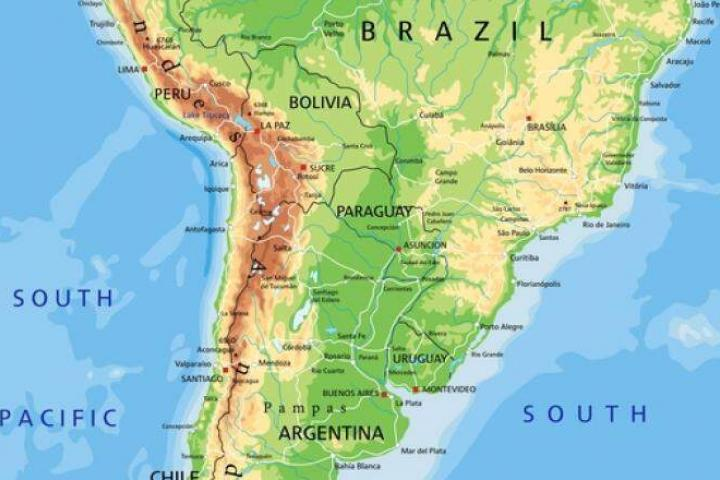 Bridge projects are underway in South America – image courtesy of © Pbardocz, Dreamstime.com