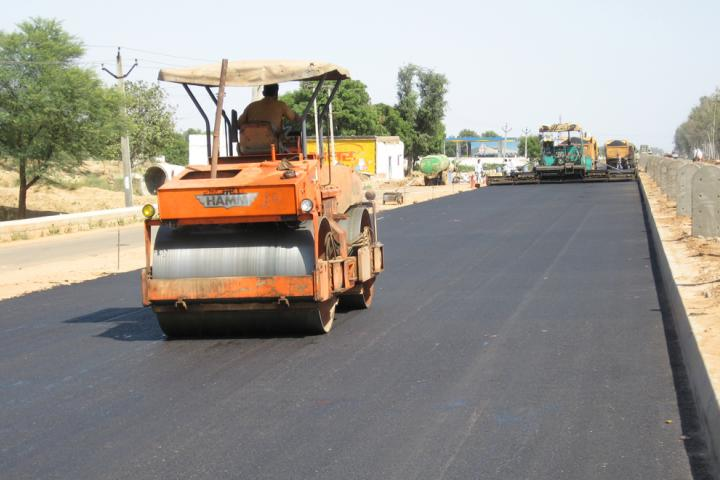 Rising materials prices have caused problems for Indian road construction projects