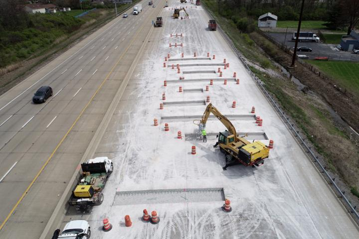 Improving the I-74 highway is important to help with transport in Indiana