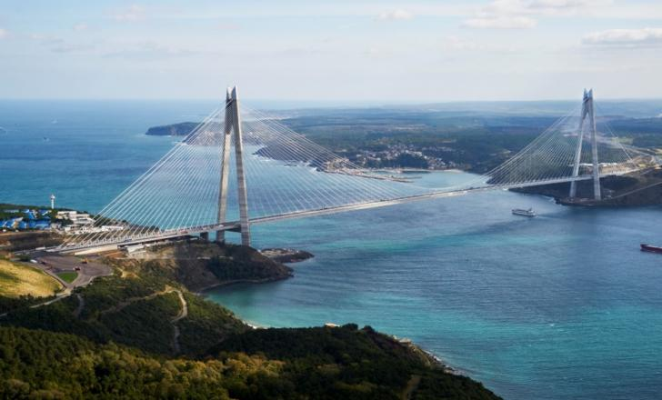 Turkey's third Bosphorus Bridge