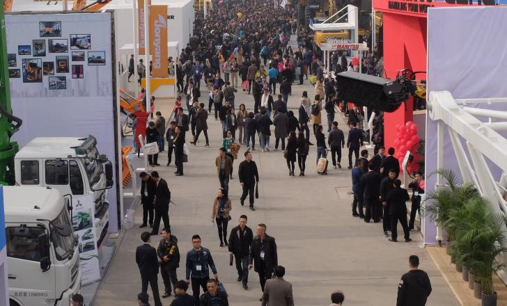 The organisers of bauma China 2020 say that the event will take place this November as planned – image © courtesy of Mike Woof